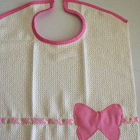 bookhoucraftprojects: Project #62 Vintage Towel Bib