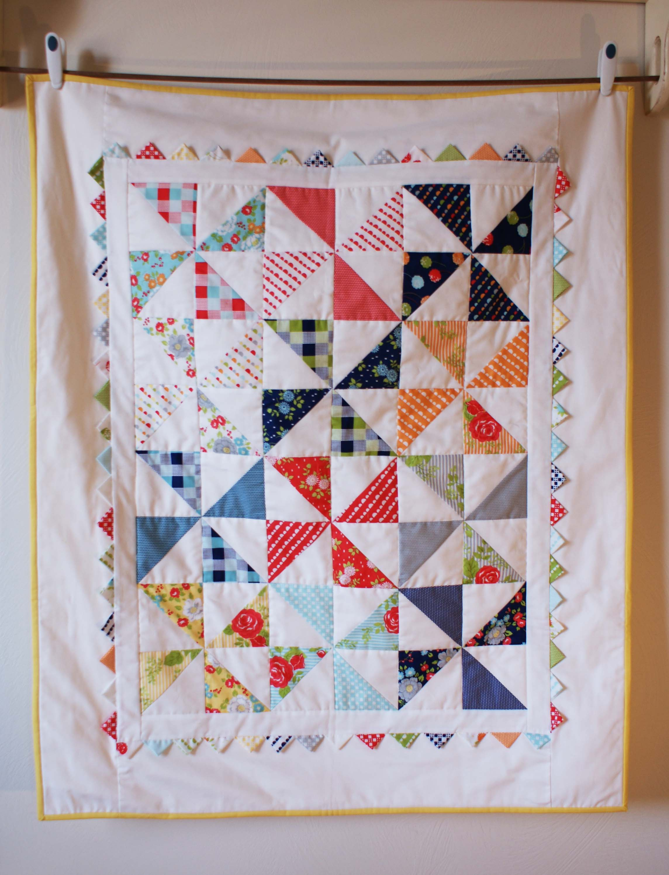 Pinwheel Quilt | : baby pinwheel quilt - Adamdwight.com